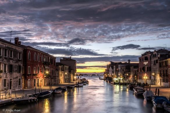 Venice sunset - 1920c
