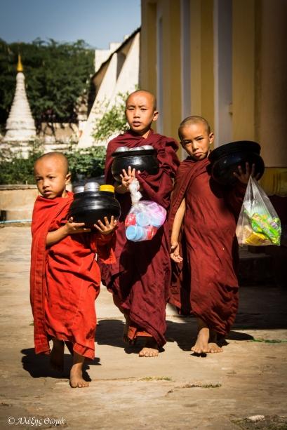 Bagan priests - 1920c