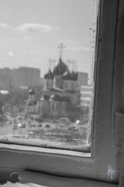 Moscow window - 1920c