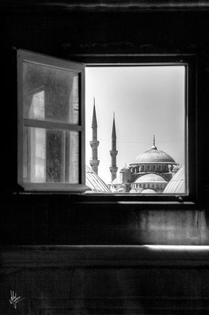 Window into Turkey - 1920c